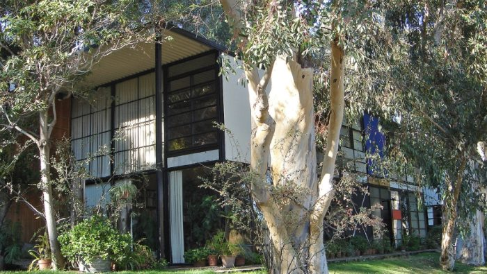 Eames House (Case Study House #8) / �����ॺ���ϥ����ʷ��۲ȡ�Charles and Ray Eames��