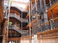 The Bradbury Building / �֥�åɥ٥꡼���ӥ�ǥ��󥰡�Downtown Los Angeles / �����󥿥���?�󥼥륹��