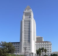 Los Angeles City Hall / �?�󥼥륹��ģ�ˡʥ����󥿥���?�󥼥륹��