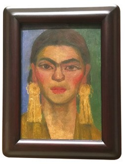 Diego Riveraの作品「Portrait of Portrait of Frida Kahlo」