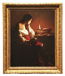 Georges de la Tourの作品「The Magdalen with the Smoking Flame」
