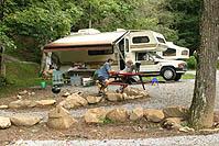San Simeon Creek Campgrounds