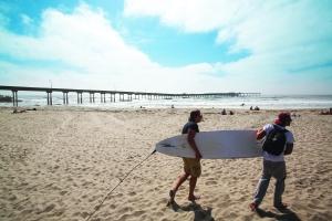 オーシャンビーチ ocean beach サンディエゴ観光ガイド 現地情報誌