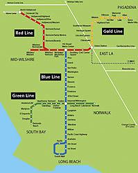 地図:メトロ路線