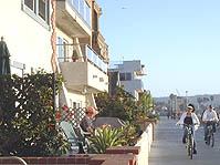 海辺のサイクリング